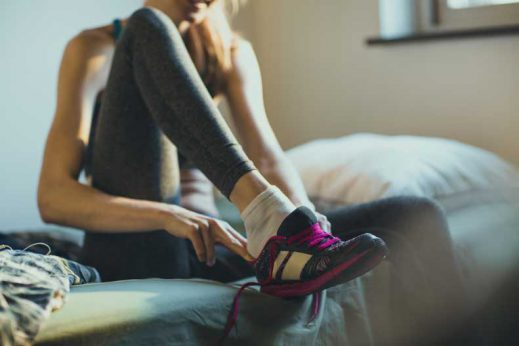 Learn more about the importance of rest for runners