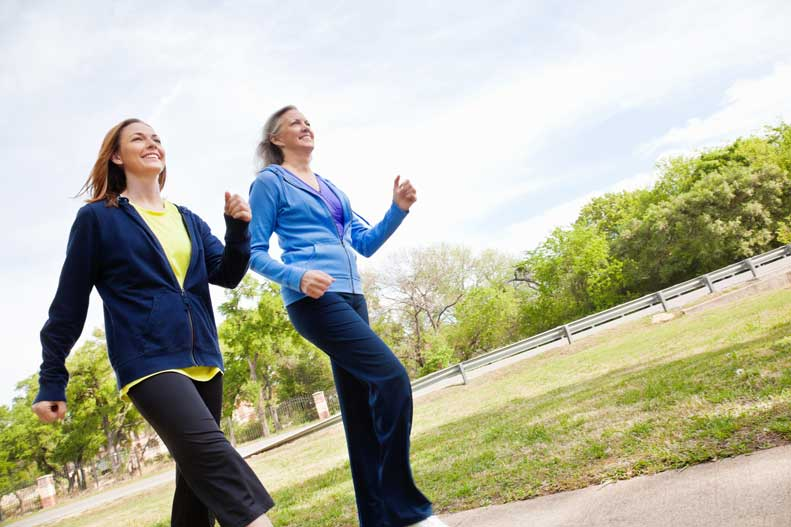 Learn more about how walking can benefit your heart health