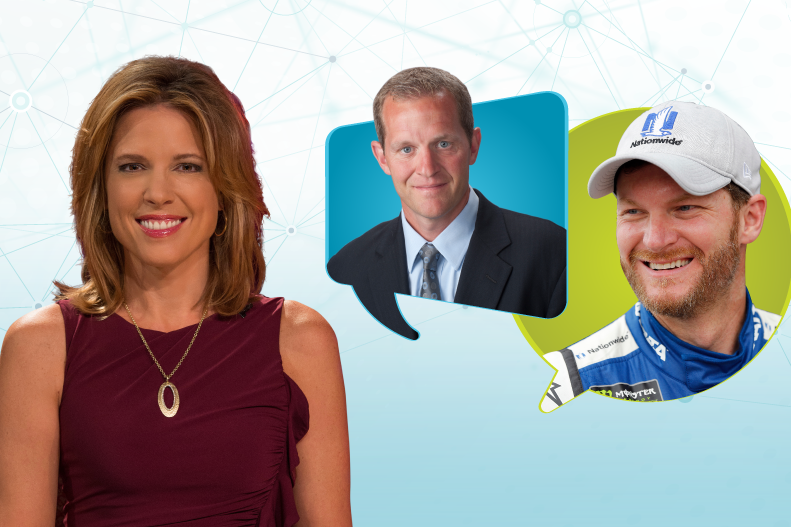Facebook Live Discussion with Hannah Storm and Dale Earnhardt Jr.