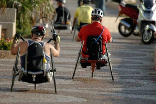 Learn more about handcycling