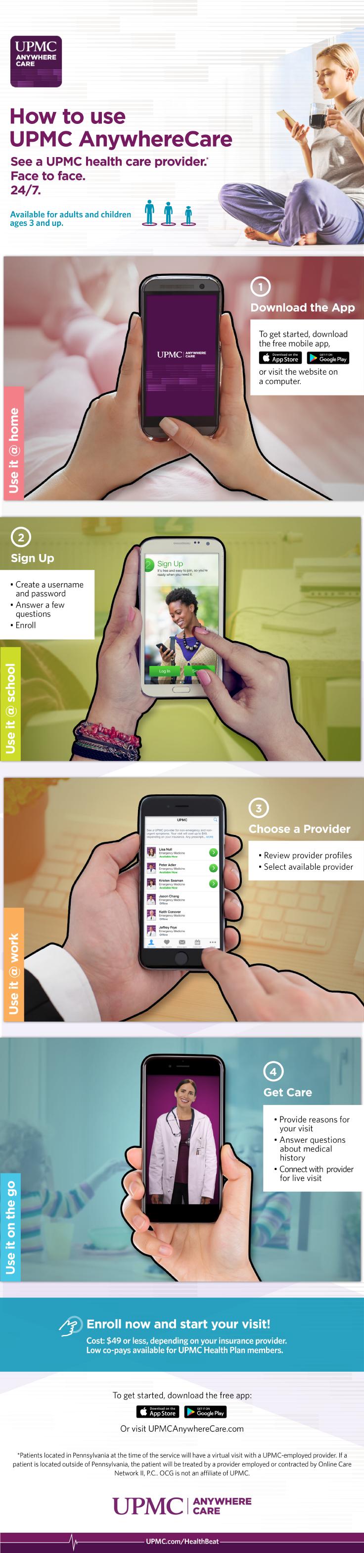 Get care 24 7 with upmc anywherecare upmc healthbeat