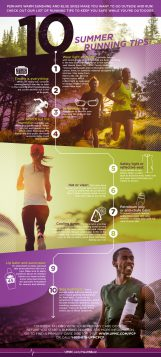 Learn more about summer running safety tips