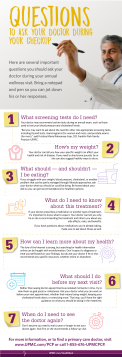 Ask these questions when you go to your primary care doctor