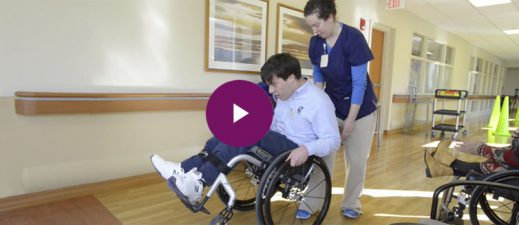 Learn more about the wheelchair skills clinic at UPMC