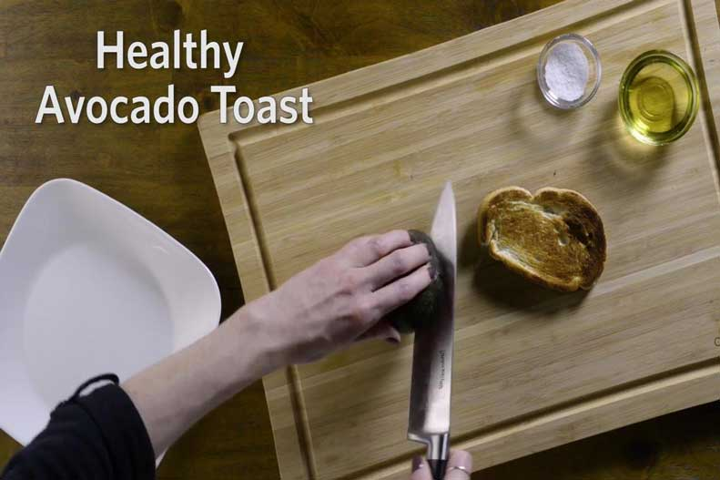 Learn more about making avocado toast