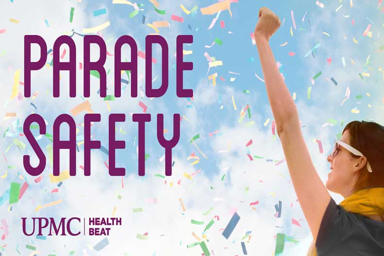 Follow these parade safety tips