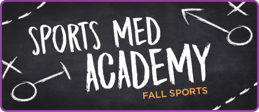 Stay safe this fall with this edition of UPMC Fall Sports Med Academy
