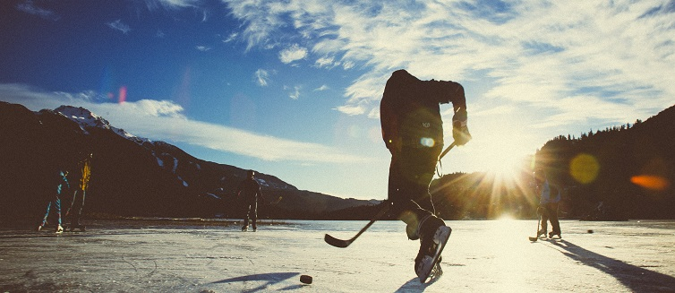 Learn more about common types of hockey injuries