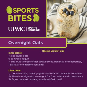 Learn more about how to make overnight oats