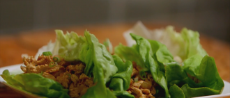 Video Recipe: Chicken Lettuce Wraps Packed with Protein