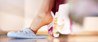 Learn how to prevent and treat discolored toenails