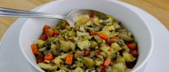 Learn how to make cauliflower stuffing