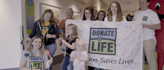Find out how UPMC celebrated Donate Life Month