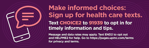 Sign up to receive text alerts