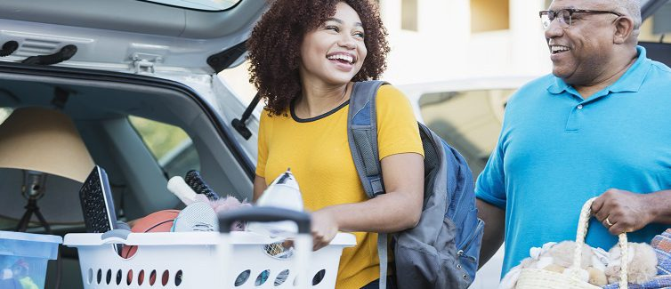 How to keep your child healthy while they're at college