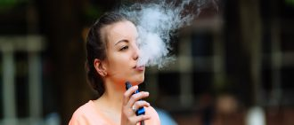 Is vaping safe? Learn more about new possible health risks associated with vaping.