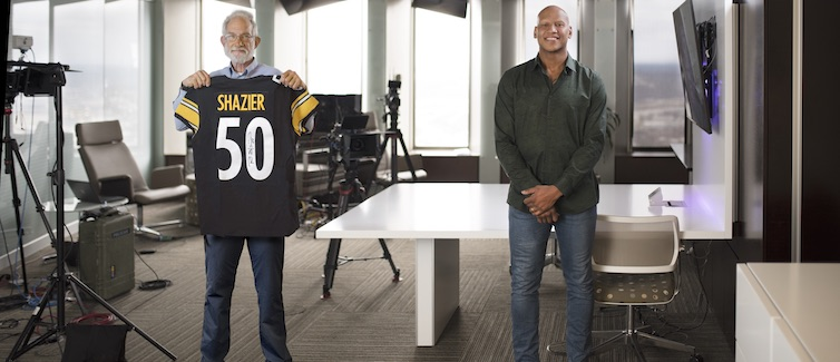 Joe Church and Ryan Shazier