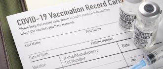 Why You Shouldn't Post Your COVID-19 Vaccination Card Publicly